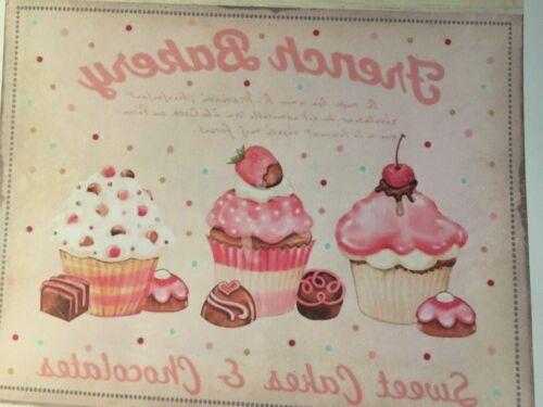 1 perchas imagen cupcake vintage nostalgia helle lámina de transferencia applikatin nº 200