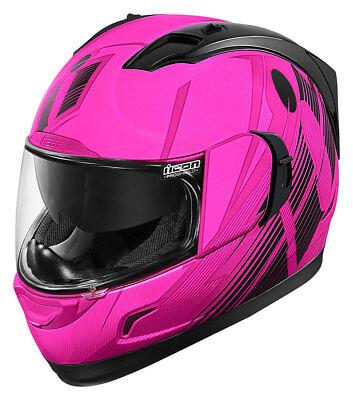 ICON Alliance GT PRIMARY Full-Face Helmet w// Sun Visor Small Black//Grey S