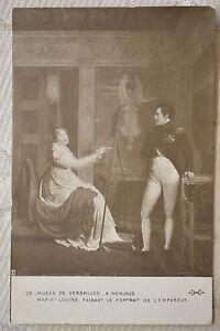 CPA-034-Musee-de-VERSAILLES-Marie-Louise-faisant-le-portrait-de-l-039-Empereur