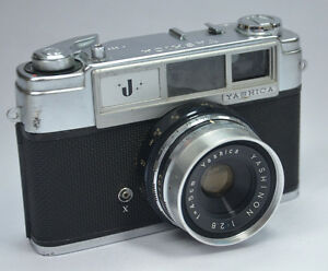 Yashica j rangefinder mm film camera with yashinon f