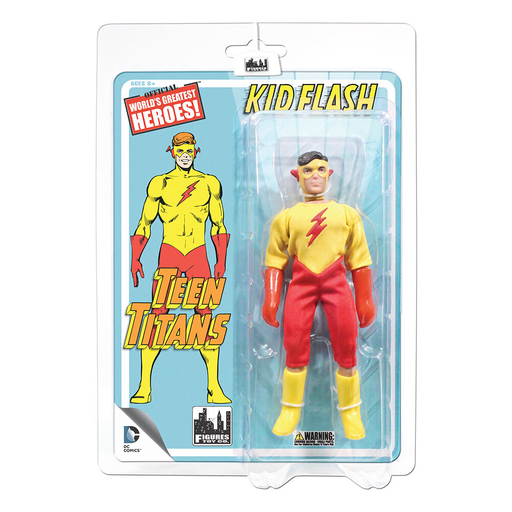 Teen Titans Retro Mego Style Action Figures Series 1: Kid Flash by FTC