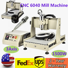 3axis Cnc Router Engraver Kit Drill Mill Machine Water Cooled Usb 15kw Cnc 6040