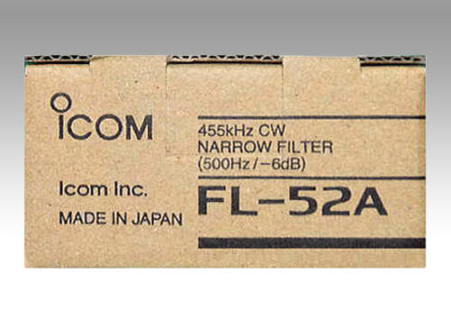 for IC-775//756//760 JAPAN F//S 500 Hz // -6dB ICOM FL-52A 455KHz CW NARROW FILTER