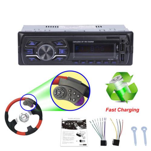 Universal Bluetooth Freisprechanlage Auto Radio Stereo MP3 Player SD USB AUX 1x