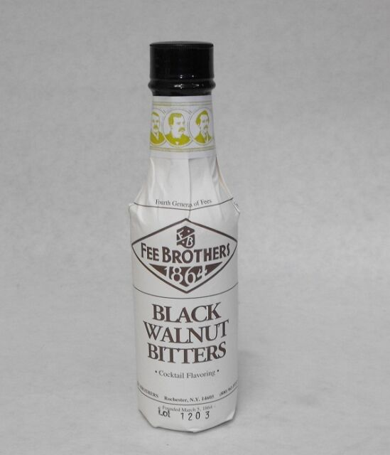 5 oz. Fee Bros BLACK WALNUT Aromatic BITTERS Cocktail Flavoring  *FREE SHIP*