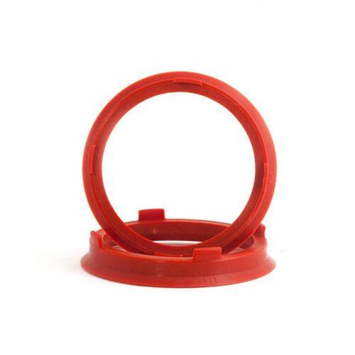 Set di 4 BICCHIERE Anello Per VW AUDI SEAT SKODA 66,6-57.1 Bicchiere anelli