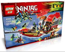 Ninjago Final Flight of Destiny's Bounty building toy blocks 06020