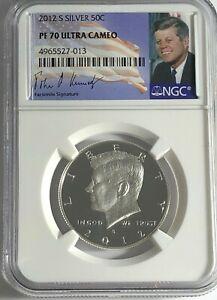 2020 S Silver Proof Kennedy Half Dollar 99.9/% Silver Dollar PF70 NGC