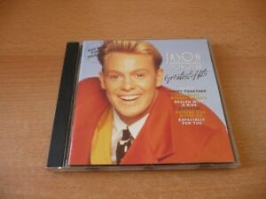 CD-Jason-Donovan-Greatest-Hits-13-Songs-incl-Sealed-with-a-kiss-Every-day