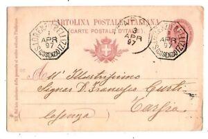 Storia-Postale-Annullo-Collettoria-S-Lorenzo-Bellizzi-per-Tarsia-1897
