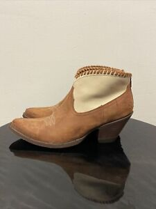 OLD-GRINGO-Short-Booties-Boots-Two-Tone-Size-8-1-2