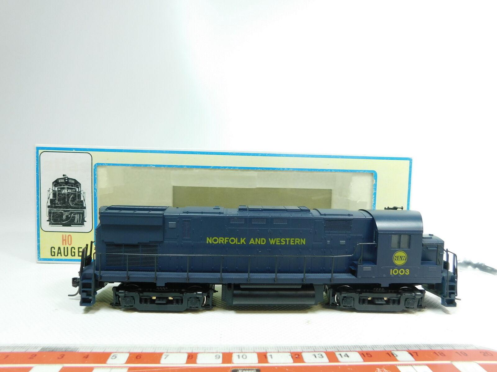 Bg477 -1 Atlas H0  DC 8036 US -diesellok Norfolk Western 1003