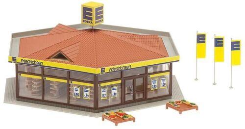 Faller h0 130342-EDEKA-mercato Friedrichsen Fiera PREZZO KIT PRODOTTO NUOVO