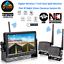 "thumbnail 1 - Digital 2 X Wireless Rear View Backup Camera + 7"" Split Monitor For RV Truck Bus"