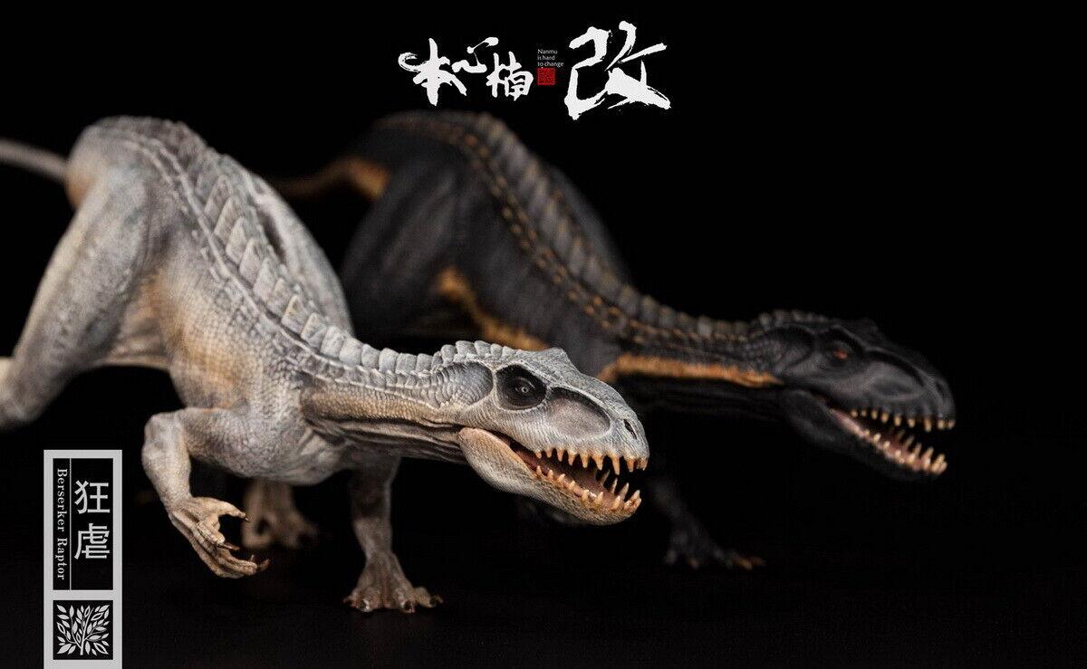 1 35 Escala Modelo Animal Dinosaurio Serie películas 2 Colors bereserker Rex Figura Juguete