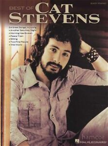 Confiant Best Of Cat Stevens Easy Piano Sheet Music Book-afficher Le Titre D'origine Gagner Une Grande Admiration