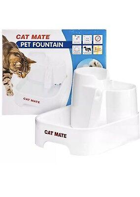 Cat Supplies Pet Supplies Nuovo Hearty Fontana Cat/dog Mate Pet Water Fountain Flowing Stream Dish-cani/gatti