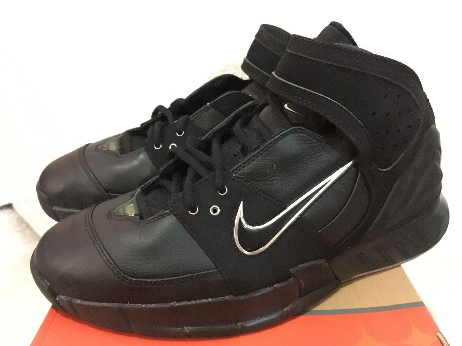 2018 Nike Air Double Figure Black Men Sz 10 311904-001