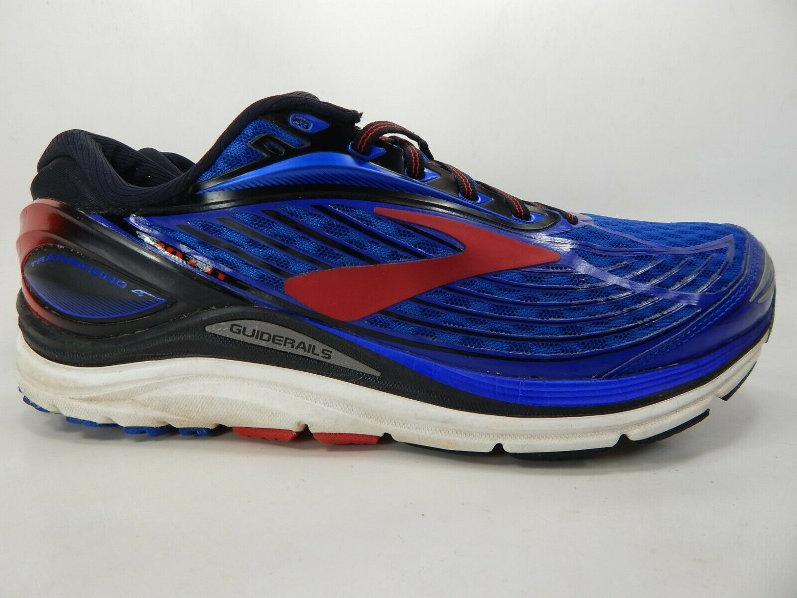 Brooks Transcend 4 Size 10.5 M (D) EU 44.5 Men's Running shoes bluee 1102491D414