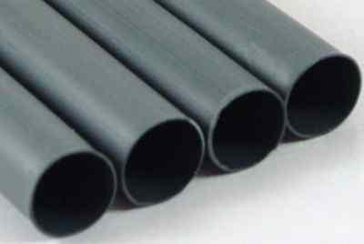 "3/16"" Adhesive Lined Heat Shrink Tubing Black Perma-Fit Dual Wall PER Foot MOLEX"