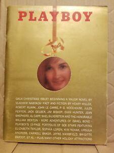 Playboy-December-1965-Very-Good-Free-Shipping-USA