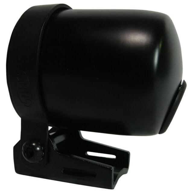 Saas 52mm 2 1/16 Inch Car Gauge Cup Holder Pod Black Dash Mount SGC52BH