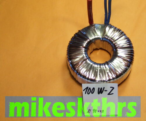 f.Halogenlampen 11,5V Ringkerntrafo Ringkerntransformator 12V 100VA .R100W-Z