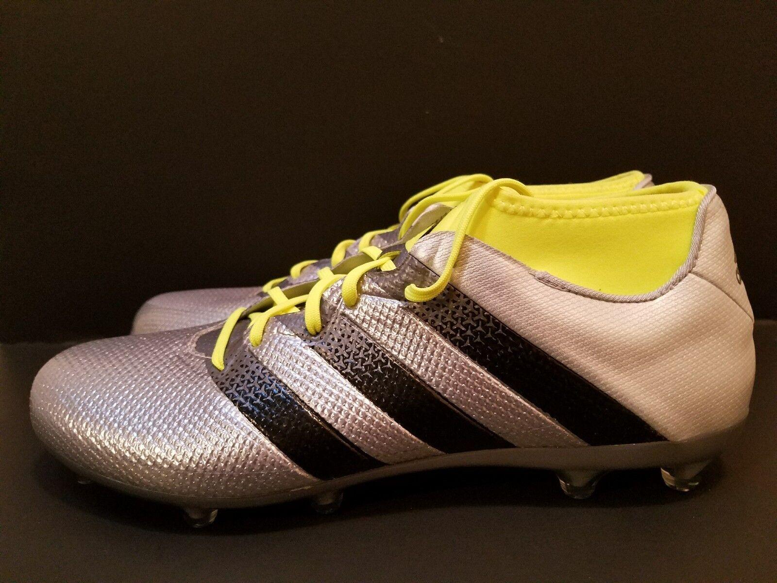 neue adidas ace 16,2 primemesh fg mens / ag sz 11 mens fg stollenschuhe silber aq3448 615432