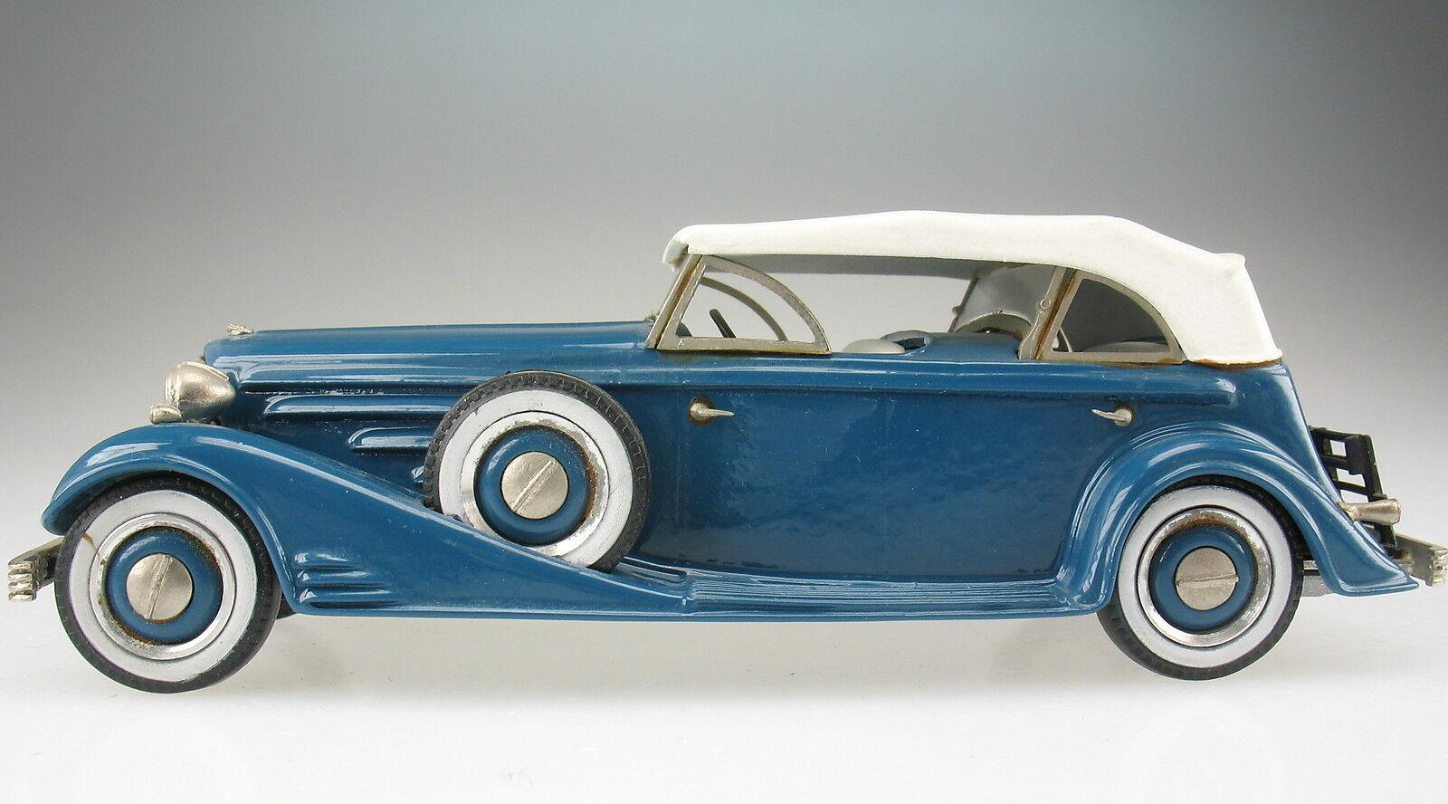 Western models models models 28-Cadillac v16 converdeible 1933 - 1 43 - coche modelo Model Car 7a893d