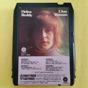 HELEN-REDDY-I-Am-Woman-8-Track-Tape-1972-Capitol-8XT-11068