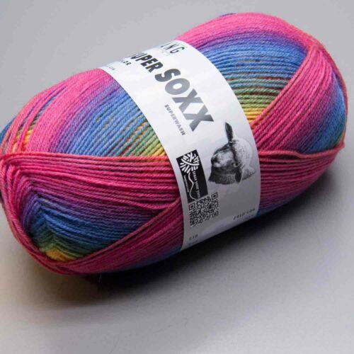 Lang Yarns Super Soxx Color 4Ply