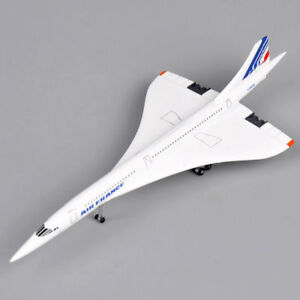 1-400-Scale-Concorde-Air-France-1976-2003-Diecast-Aircraft-Model-Airplane