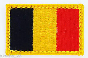 Patch Ecusson Brode Drapeau Belgique Insigne Thermocollant Neuf Flag Patche U5srks0o-08010855-540776535