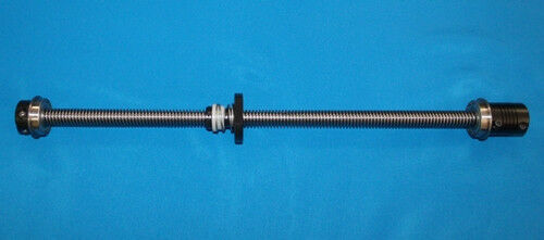 """12/"""" acme leadscrew 1//2-10 with delrin nut bearings clamp coupler for CNC router"""