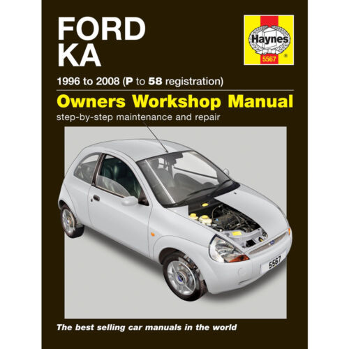 Ford KA Haynes Manual 1996-2008 1.3 Petrol Workshop Manual