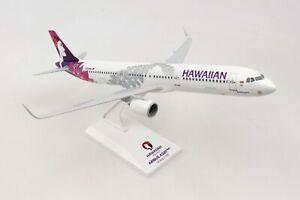 SKYMARKS-SKR990-HAWAIIAN-AIRLINES-A321NEO-1-150-SCALE-PLASTIC-SNAPFIT-MODEL