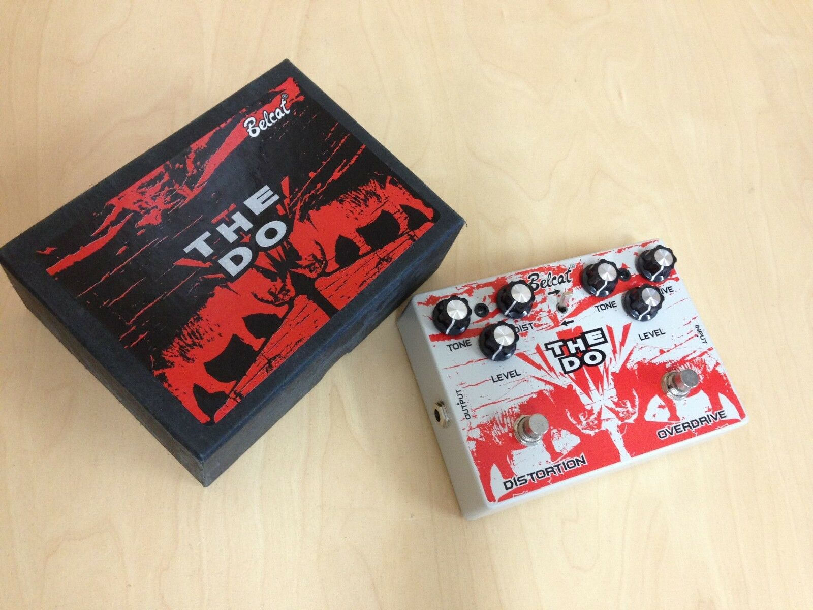Belcat The Do Guitar Effects Pedal, Distortion & Overdrive