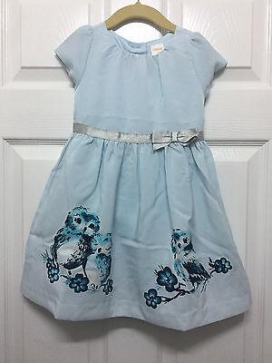 NWT Gymboree girls pink butterfly garden owl dress NEW Ruffle Size 2t