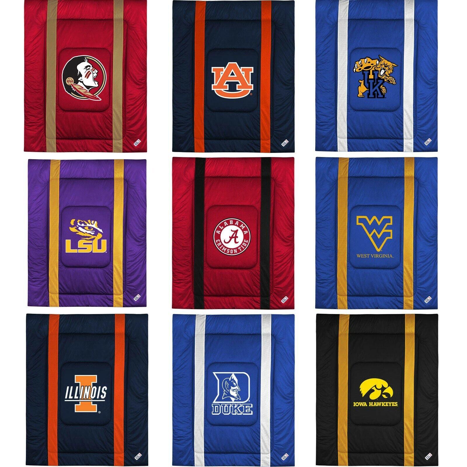 NCAA College Consolateur-Sports League Logo Lit Housse Chambre à coucher-Choisissez votre équipe