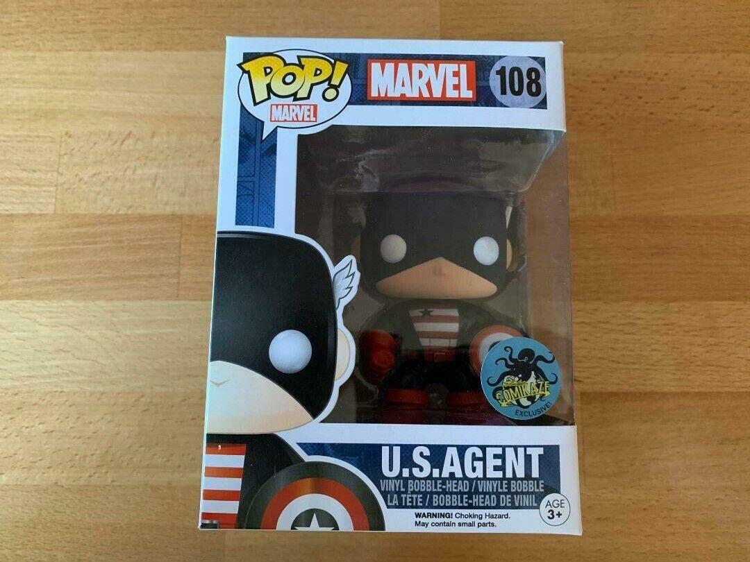 Marvel Funko POP US Agent Comikaze Exclusive