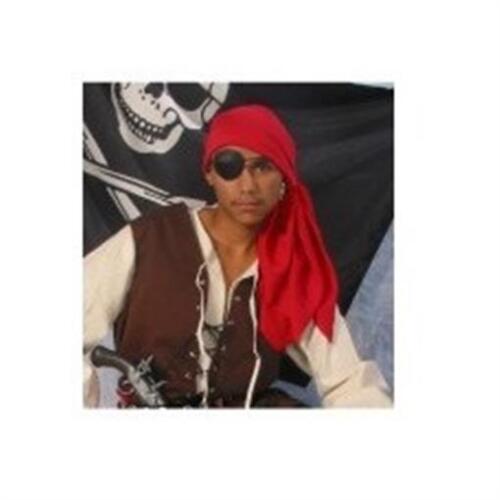 Alexander Costume 14-028 Gypsy Pirate Bandana Red