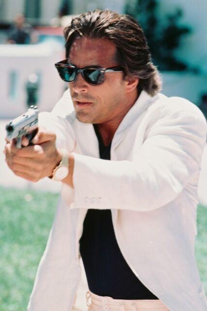 DON JOHNSON MIAMI VICE 36X24 POSTER SUNGLASSES & GUN
