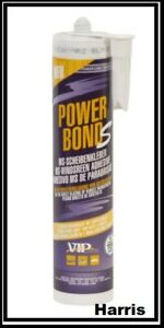 2 X Vip Power Bond Windscreen Ms Polymer Sealant Bond Black Vip13b Suitable For Men And Women Of All Ages In All Seasons Adhesives, Sealants & Tapes