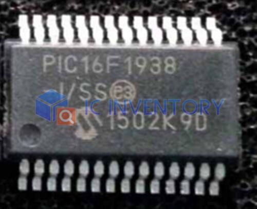 5PCS PIC16F1938-I//SS IC MCU 8BIT FLASH 28SSOP PIC16F1938-I 16F1938 PIC16F19