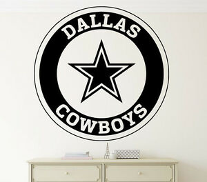 Image Is Loading Nfl Dallas Cowboys Wall Decal Vinyl Sticker Home
