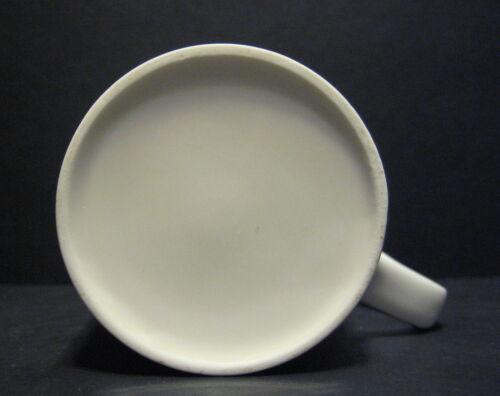 Conjunto de 6 Blanco Marlborough forma Porcelana Fina Taza Tazas Vasos 10 floz
