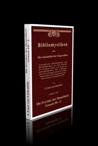 Lanz von Liebenfels - Bibliomystikon 4. Band, 3. Teil