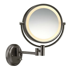 Conair Be6bxbr Round Shaped 1x 8x Magnification Wall Mount