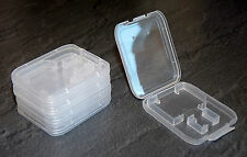 5 Stück SD + MICRO SD Box Speicherkarte SDHC ETUI Schutzhülle Hülle MMC Case