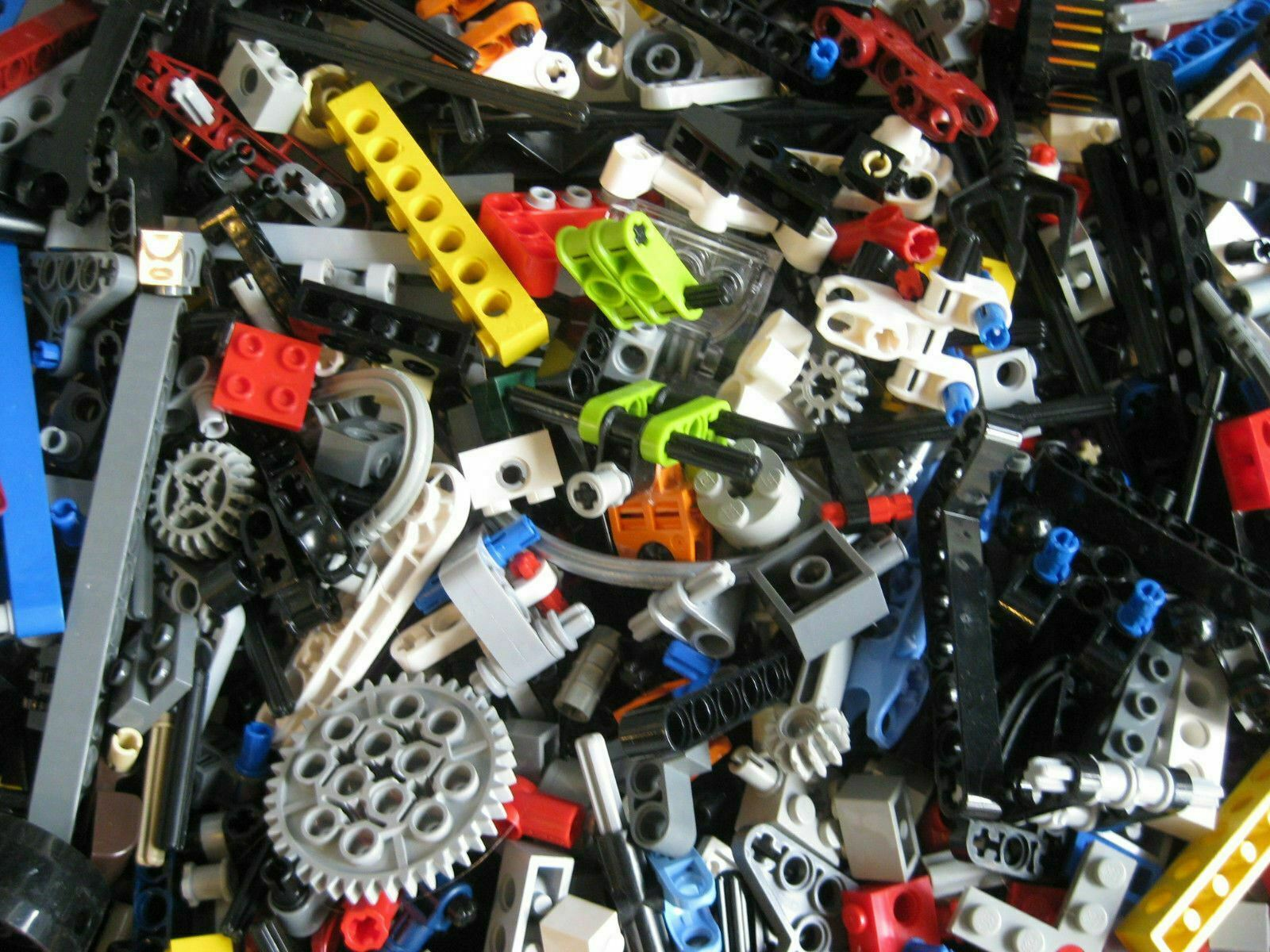 Lego Bulk Lot TECHNIC MINDSTORM PARTS 1//4 lb Beams Pins Axles Cog Specific ASK